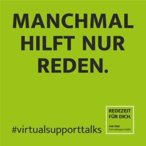 REDEZEIT FÜR DICH #virtualsupporttalks